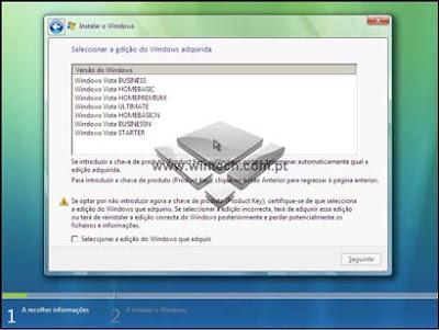 [Tutorial] Aprenda a formatar e instalar o Windows Vista 7AWARNING2
