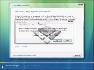 [Tutorial] Aprenda a formatar e instalar o Windows Vista 7AWARNING