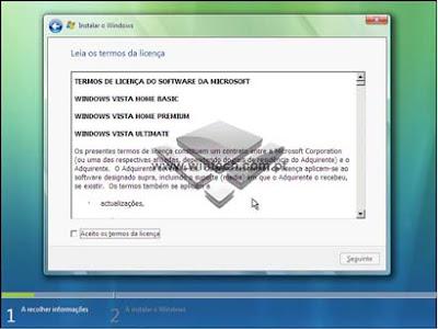 [Tutorial] Aprenda a formatar e instalar o Windows Vista 7B