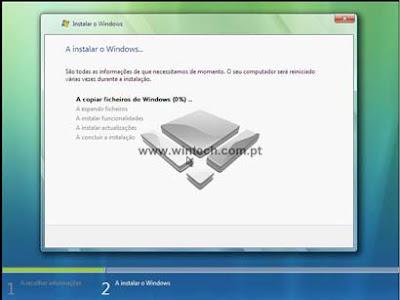 [Tutorial] Aprenda a formatar e instalar o Windows Vista 8A