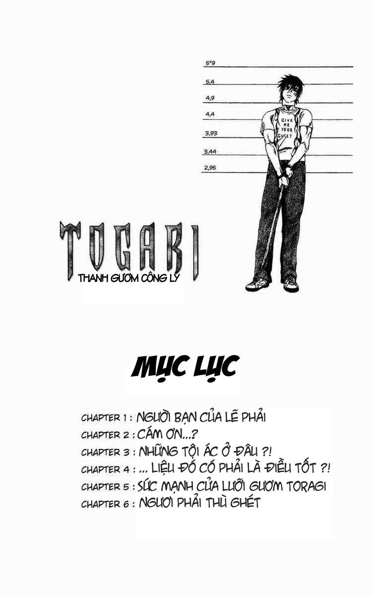 Togari chap 001 trang 1