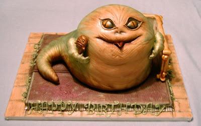 Amazing Jabba Shaped Cake