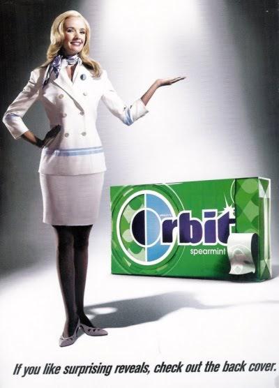 orbit gum girl naked