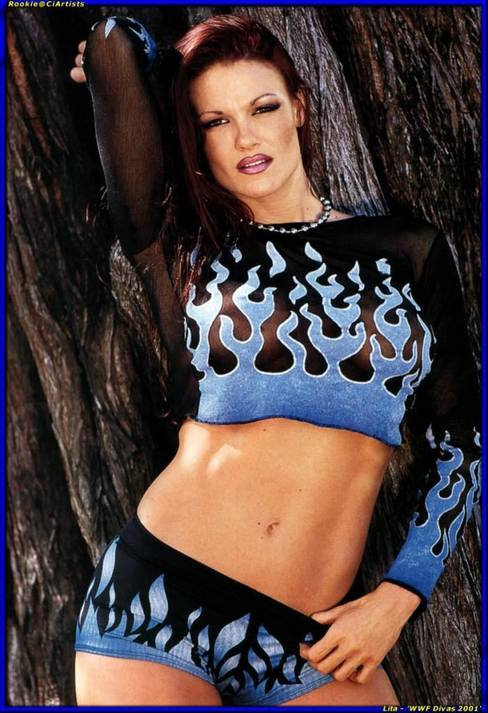 wwe lita playboy photos