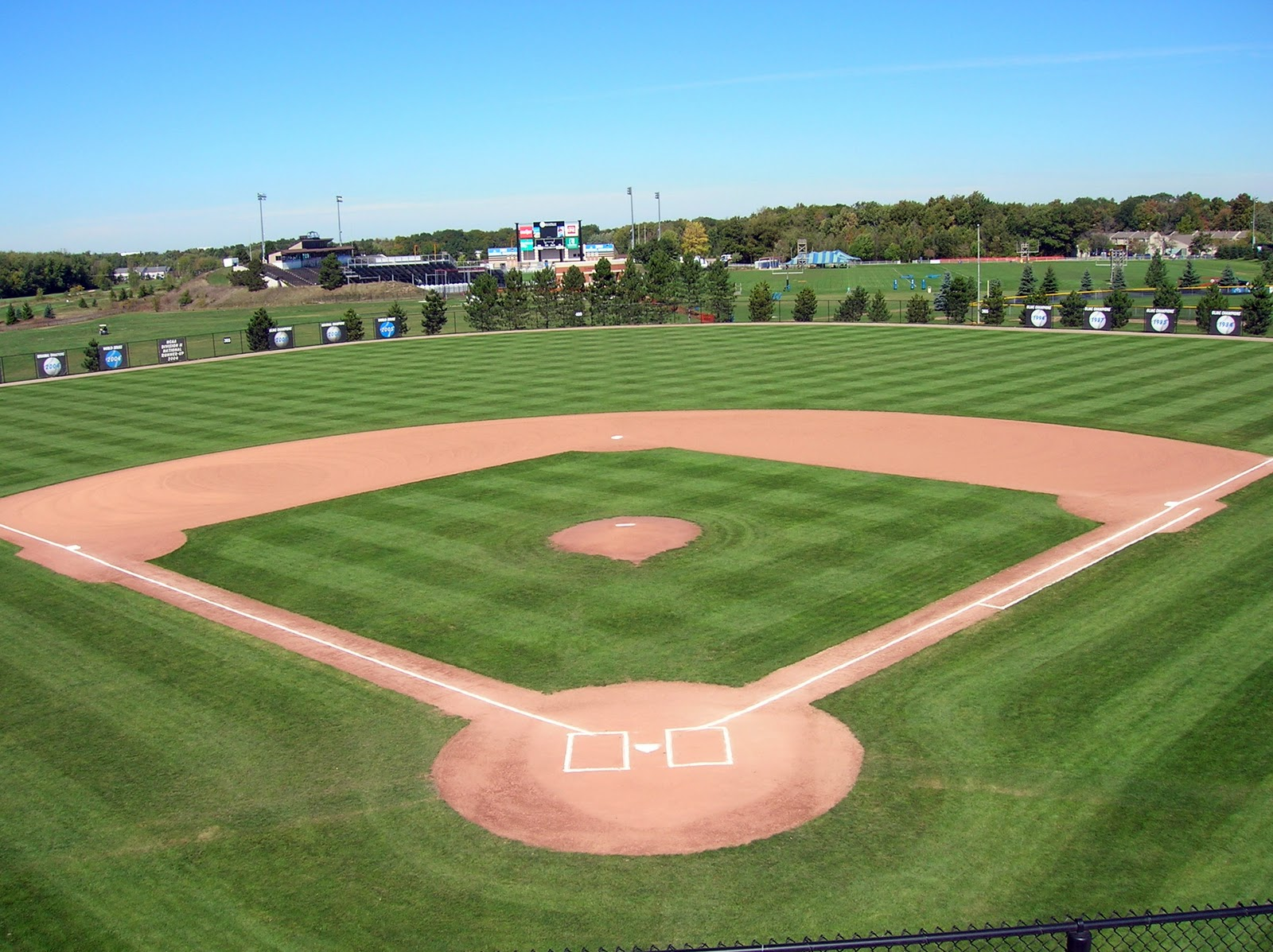 Home Of Sports Baseball Diamond Pictures