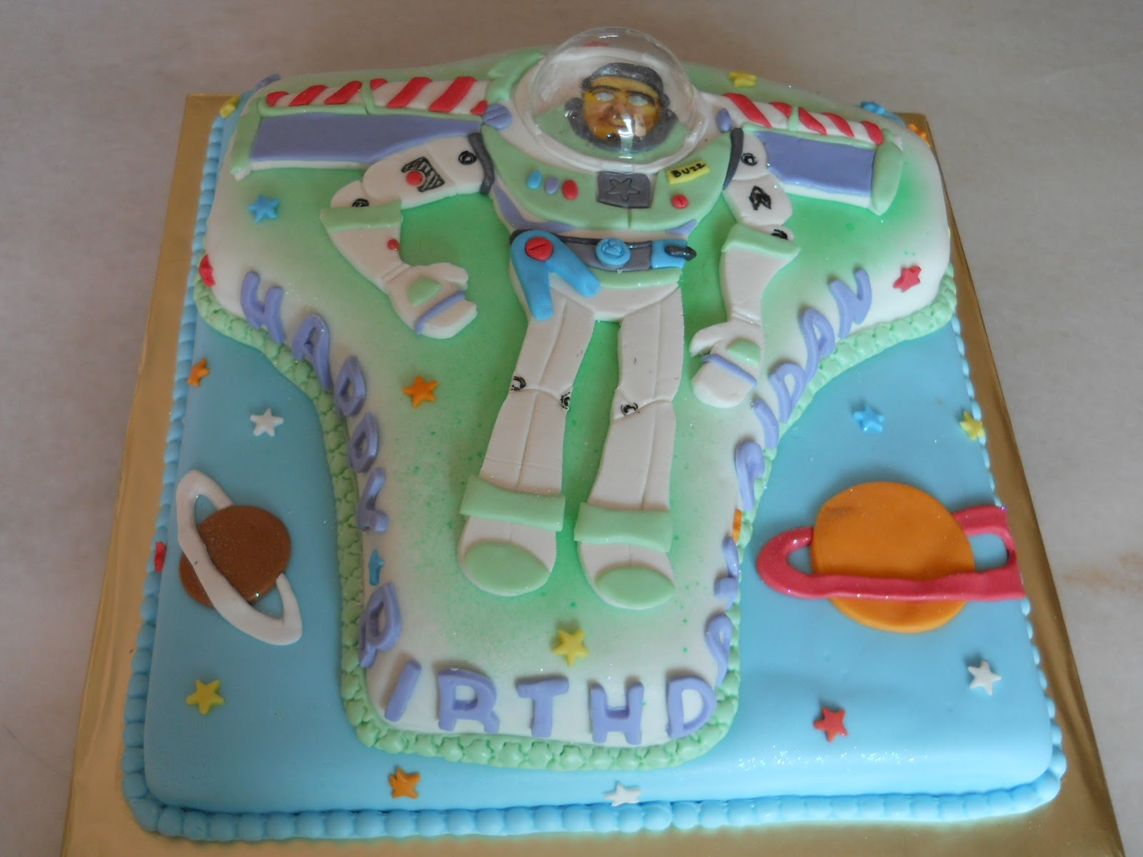Toy Story Buzz Lightyear 4 5kg Cake