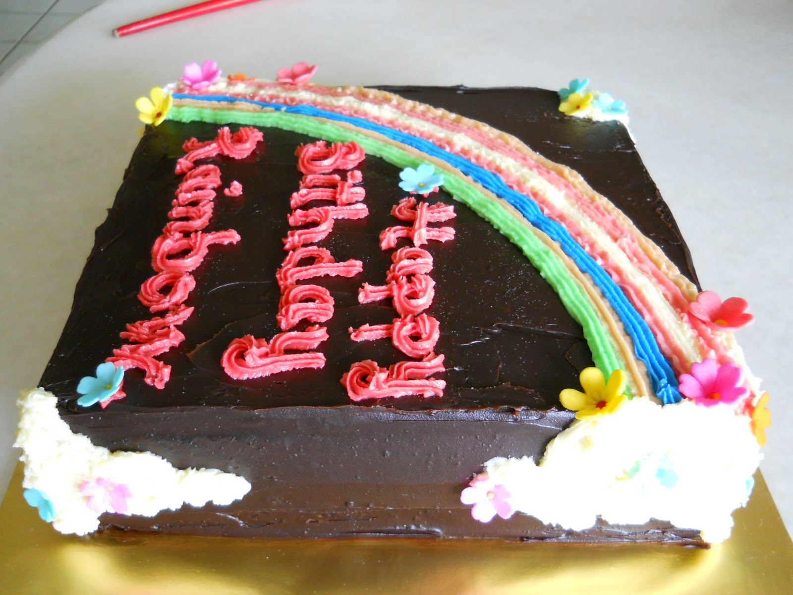 The Best Cakes In Town Rainbow Chocolate Moist Cake
