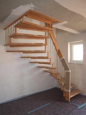 bericht von der baustelle unsere treppe ist da. Black Bedroom Furniture Sets. Home Design Ideas