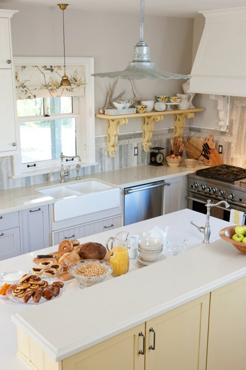 From My Living Room: Sarah's House Kitchen