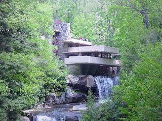 Petra dura architettura e contorni fallingwater for Wright la casa sulla cascata