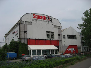 Squash City in Amsterdam