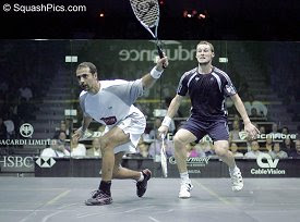 Shabana and Gaultier in the World Open final