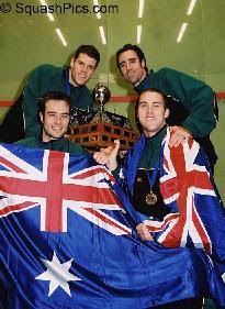 Australia win the 2003 men's World Team championships