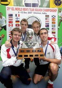 The victorious English team - Beachill/Matthew/Willstrop/Barker