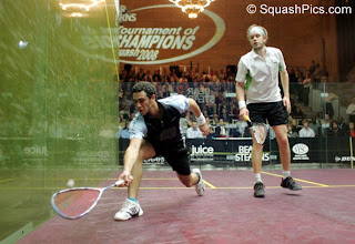 Ramy Ashour v James Willstrop in the Tournament of Champions 2008 final