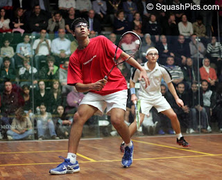 Boys U19 final - Mohamed El Shorbagy, Egy, beats Gregoire Marche, Fra