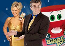 Joe Pasquale and Susanne Shaw will present BingoLotto