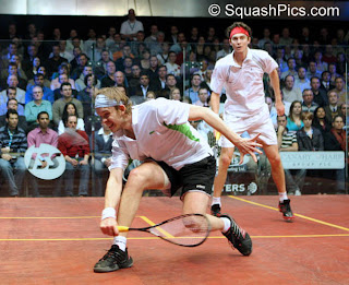 Willstrop beats Pilley in 5 at Canary Wharf