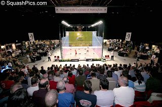 The 2006 British Open, held in Nottingham