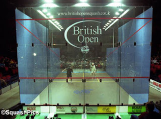 The show court at the 2001 British Open