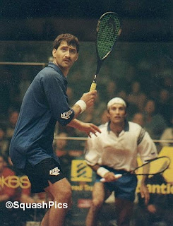 Jansher Khan won the World Open 8 times and the British Open 6 times