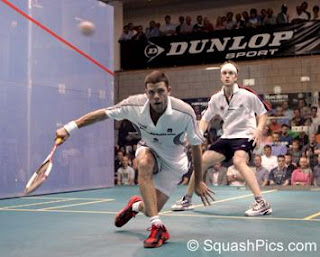 Willstop and Ricketts battle it out in the 2005 British Open final