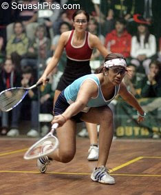 Indian number one Joshna Chinappa