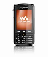 Sony Ericsson W960i Front view
