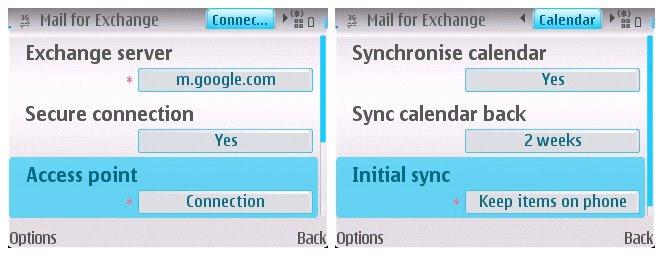 Google Sync Beta S60