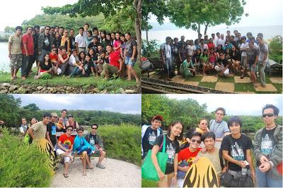 Cebu Bloggers Society at Sumilon Island Resort