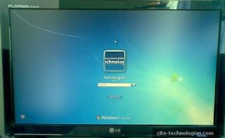 Windows 7 Login Windows