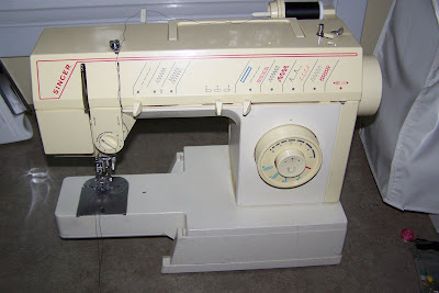 My Sewing Machine:  Singer 5808C