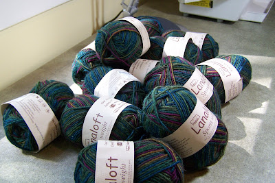 Yarn Arrived for Highlander!