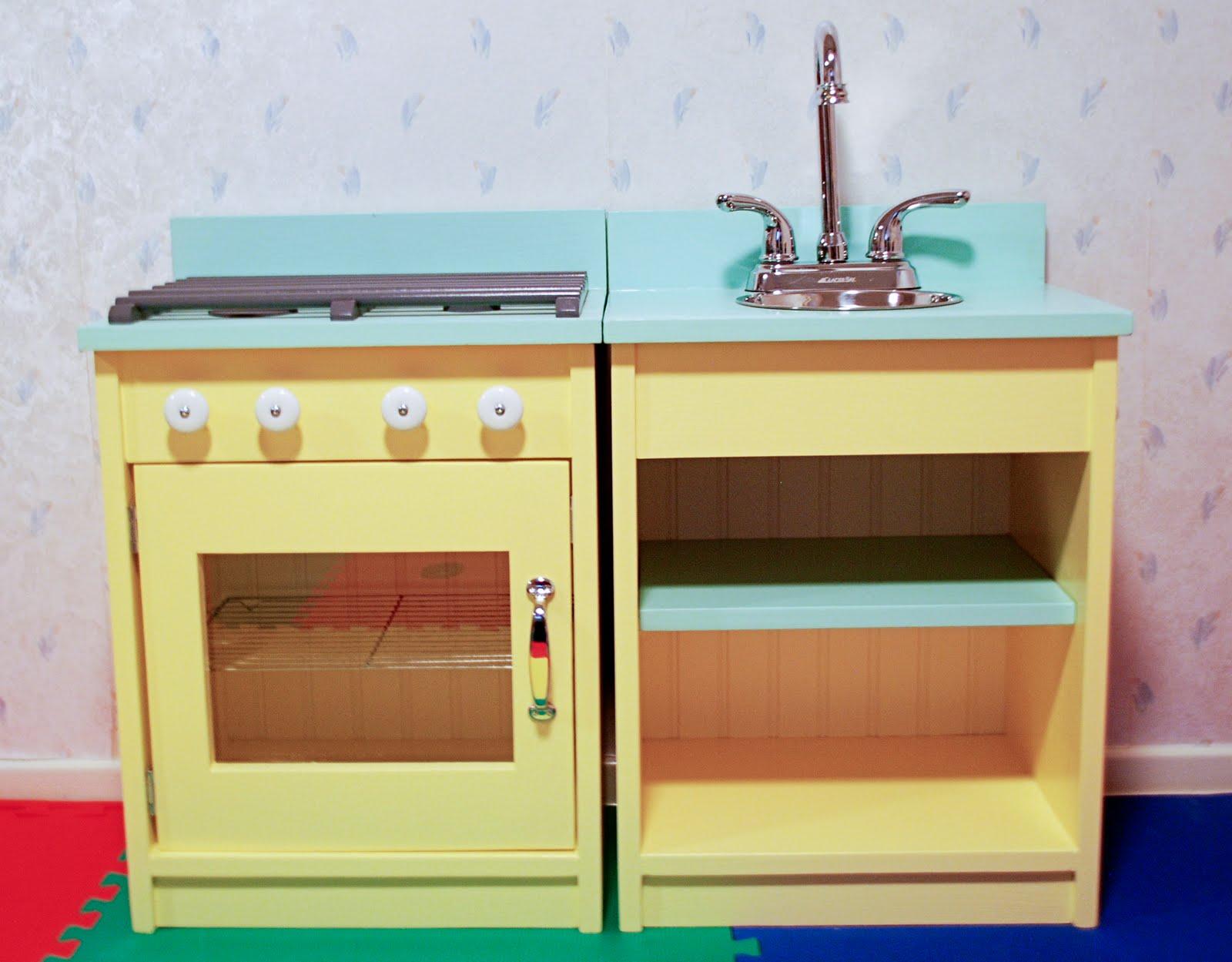 Play Kitchen Progress Rambling Renovators