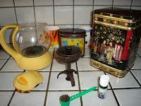 recettes entrees  Thé vert à la menthe
