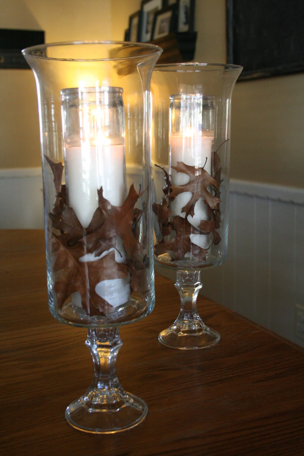 Lucky In Love DIY Detail Hurricane Vases Candle Holders