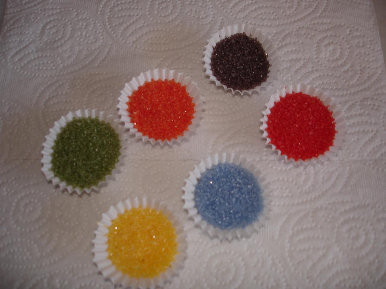 Casminella Renkli Toz Seker Nasil Yapilir How To Make Colored Sugar