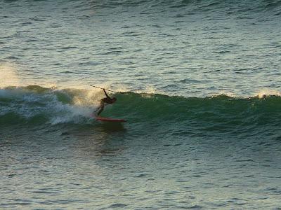 sesión de surf del 21 de febrero del 2008 - sopelana