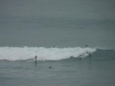 sesión de surf del 22 de febrero del 2008 - la triangu