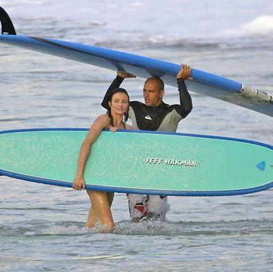 ¿Cameron Diaz y Kelly Slater juntos?