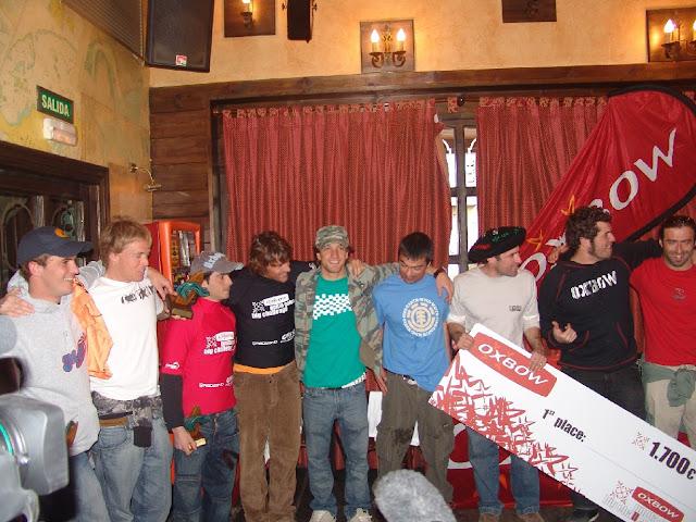 Premiados en el Oxbow Punta Galea Big Challenge 2007
