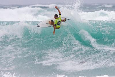 Y Hodei Collazo cae en la semifinal frl Hot Tuna Central Coast Pro