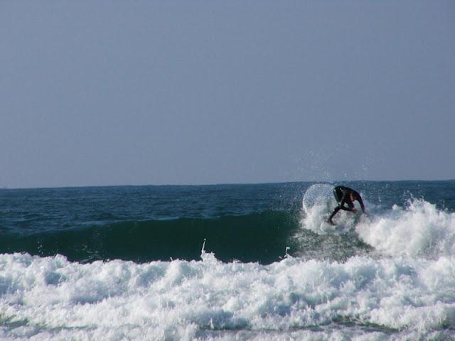 sesión del 5 de abril del 2007 - playa de sopelana - surf longboard - www.surf30.net
