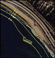 Proyecto de arrecife artificial en Oil Piers, California
