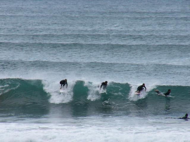 sesión del 28 de abril del 2007 - sopelana - surf y olas