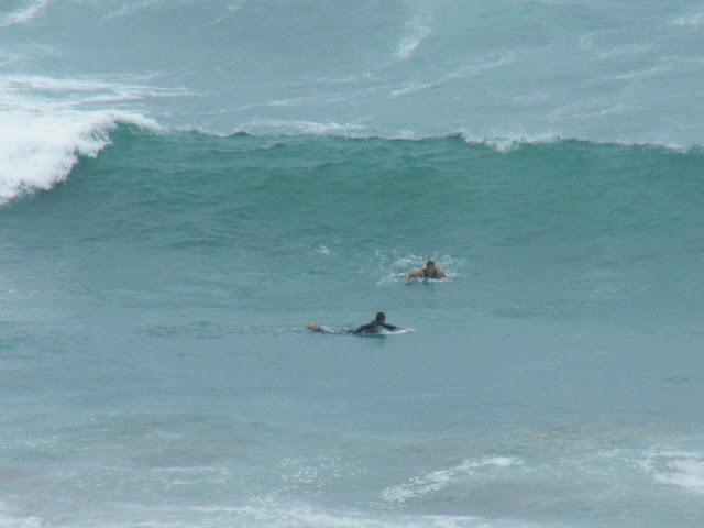 Sesión de surf del 31 de Mayo del 2007, Sopelana, olas de metro y medio