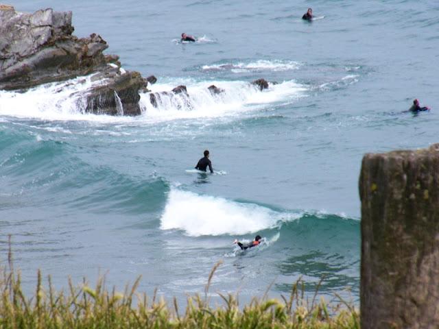 Sesión de surf del 30 de Mayo del 2007, Sopelana, olas enanas