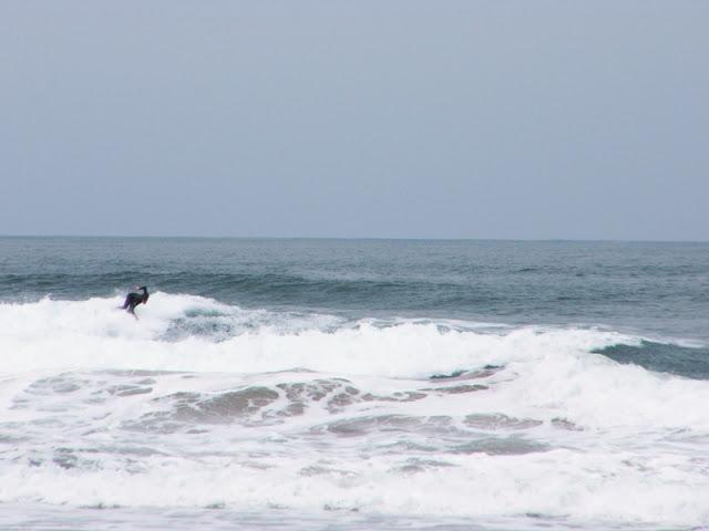 Sesión de surf del 27 de Mayo del 2007 en Sopelana