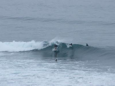 Sesión de surf del 5 de Noviembre del 2007 - Sopelana