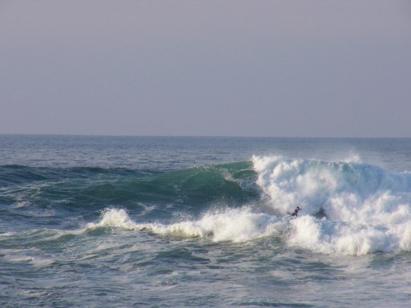 día de tamañeros con olas de más de dos metros en meñakoz el 28 de octubre del 2007 - surf 30